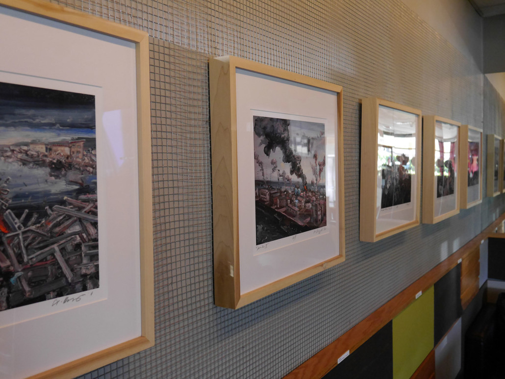 Art display by local jacksonville artists the coffee grinder jax art by local jacksonville artists if solutioingenieria Image collections